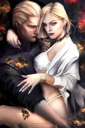 Two Wesker by Fanat08