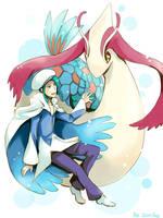 Beauty Pokemon by sdPink
