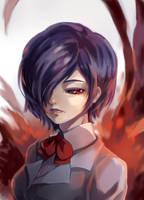 Touka: Tokyo Ghoul by sdPink