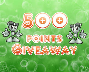 500 Points Giveaway by daPointsCache
