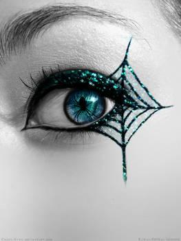 Glitter Spider Eye by Crazy-Kiwii