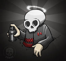 Skull-bomb by zordesign