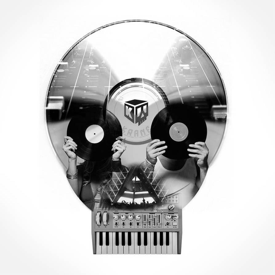 E-music-skull by zordesign