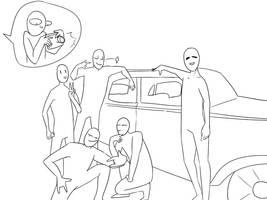 Draw The  squad by MiArtX