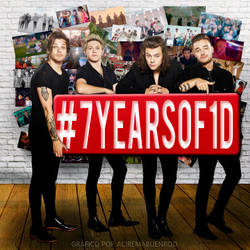 ONE DIRECTION 7 YEARS by lunitame