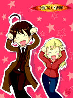 Doctor Who Caramelldansen by moppistrawberry