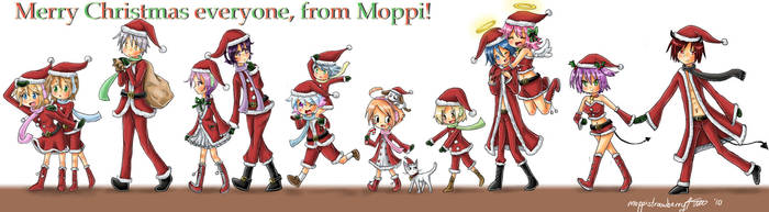 Merry Christmas Everyone by moppistrawberry
