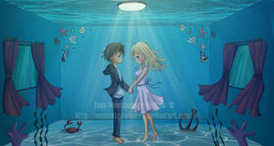 Saltwater Room screenshot by moppistrawberry