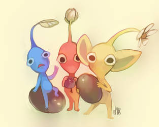 pikmin by Wrenhat