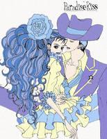 Paradise Kiss by xxasphyxiate