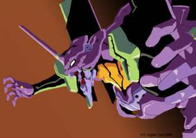 Eva unit 1 by Fenrir-Moon