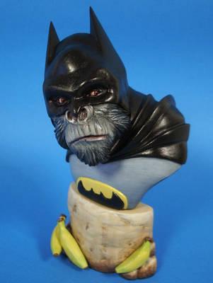 Batman as in the JLAPE Gorilla Warfare series by figuralia