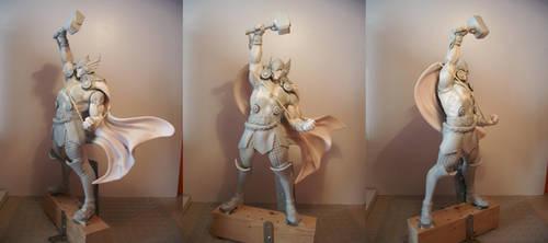 Kotobukiya Thor Esad Ribic style custom part I by figuralia