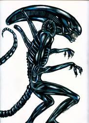 Alien Warrior by Sularias