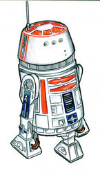 R5-D4 or Skippy the Jedi Droid by Sularias
