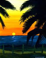 Sunset Beach by Sularias