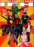 Insert Funnie Here Poster by Sularias