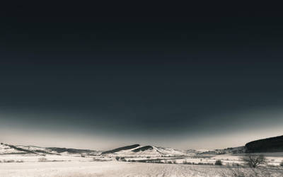 winter panorama by compot-stock
