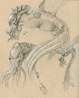 Cthulhu Sketches by Ito-Saith-Webb