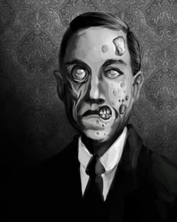 Spooks Obit Portrait: Zombie Lovecraft by Ito-Saith-Webb
