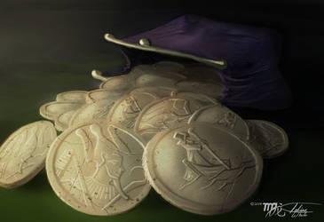 SPOOKS! Charon Coins by Ito-Saith-Webb