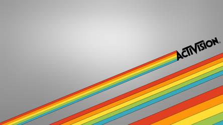 Classic Activision Rainbows Wallpaper by Cowboygineer