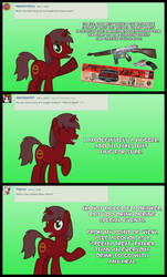 Ask Cowboy Pony 2 by Cowboygineer