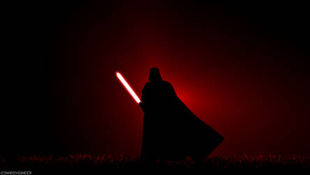 Darth Vader by Cowboygineer