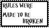 Rules Stamp by Cajincatcher