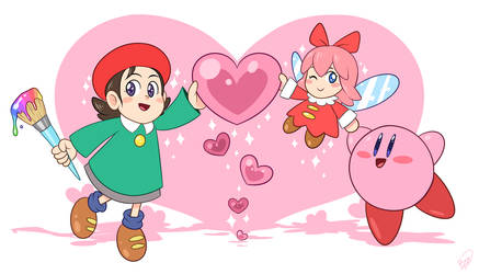 Welcome back, Adeleine and Ribbon! by Zieghost