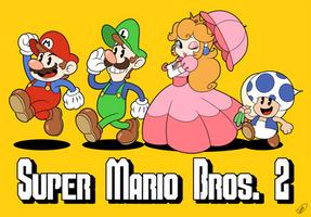 Super Mario Bros. 2 by Zieghost