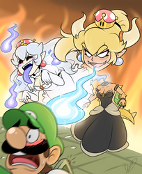 hey the Luigi's Mansion remake is looking good by Zieghost