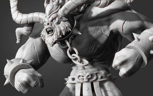 Alistar Zbrush WaxZoom2 by Dack3d