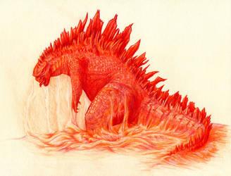 Godzilla by niemandswort
