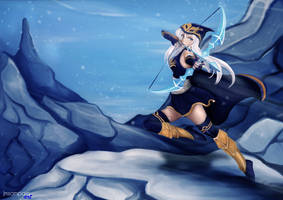 Ashe - The frost archer by Jmsampaio