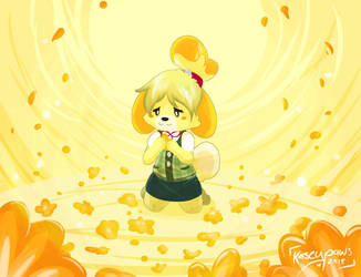 . fa . isabelle . by Kaseypaws