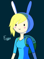 Fionna from Adventure Time by noorin