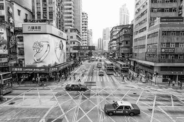 Hong Kong Streets I by kmetjurec