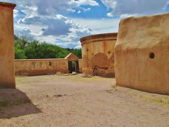 Mission Jan Jose de Tumacacori - Arizona by bixster