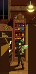 Library by Zilkenian