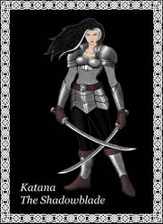 Katana - Half-Elf by keyn-thror