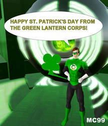 ST. PATRICK'S DAY ON OA by The-Mind-Controller