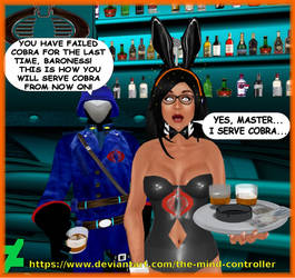 The Baroness Serves Cobra by The-Mind-Controller