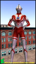 Ultraman Cosplay In Second Life by The-Mind-Controller