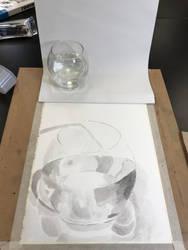 Glass of water by SuckerPunchYou