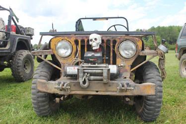 Road Warrior Jeep by JAFNOVA