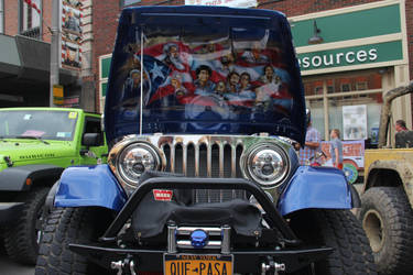 Jeep under the hood art. by JAFNOVA
