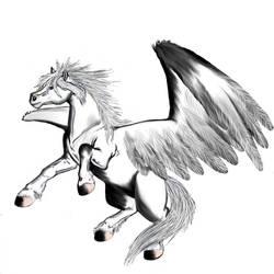 Pegasus - Okami like- by Tsaag