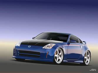 Nissan 350Z Race Mods - Vector by j-s-n