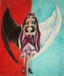 Raven Queen by davidartistic